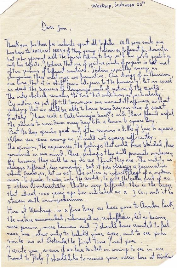 Letter-Massimo